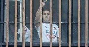 Indignación en redes sociales por el feo gesto de James Rodríguez