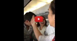 Video: La bochornosa actitud de Camila, una pasajera común, en un avión de Avianca