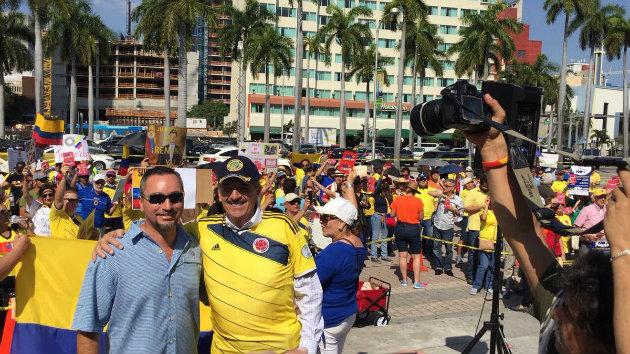 Marcha_Uribismo_Corrupción_Miami