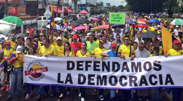 Marcha_Uribismo_Corrupción_Villavicencio