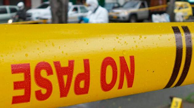 Asesinado en San Antonio de Prado