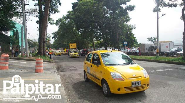 Marcha4_Taxistas_Medellín_El_Palpitar