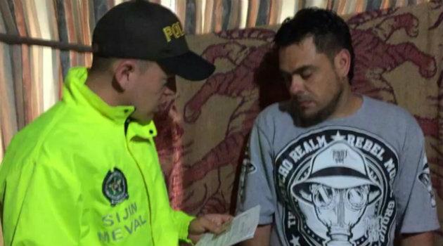 El hombre fue capturado en Bello. Foto: CORTESÍA.