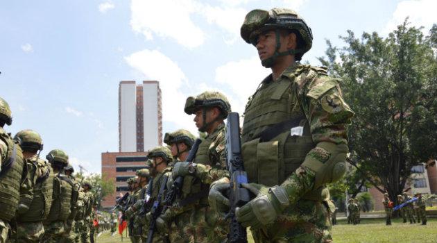 El batallón es el primero en Colombia en su especialidad. Foto: CORTESÍA.
