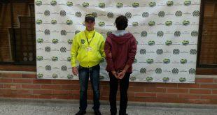 El hombre fue capturado el jueves 18 de mayo. Foto: CORTESÍA.
