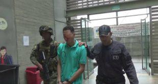El joven fue capturado este 22 de mayo. Foto: CORTESÍA.