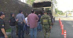 Los capturados fueron judicializados. Foto: CORTESÍA.