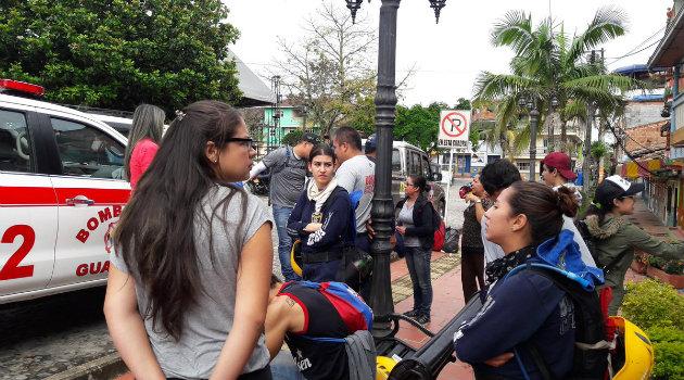 Cincuenta personas hacen parte de las brigadas de búsqueda. Foto: CORTESÍA.