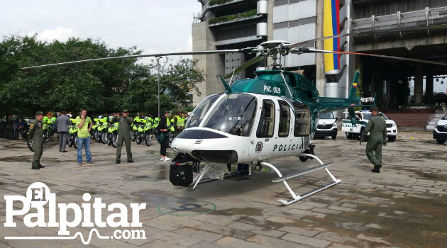 El helicóptero contará con herramientas especializadas. Foto: EL PALPITAR.