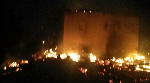 Se incendi vivienda detectada como posible casa de pique for Vivienda reducida