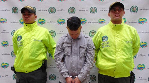 El hombre deberá responder por el delito de concierto para delinquir. Foto: CORTESÍA.
