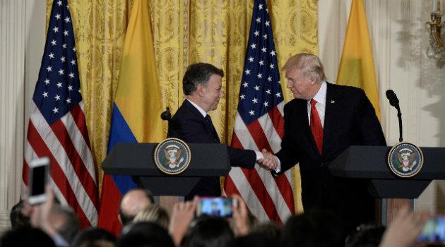 Histórica reunión entre ambos mandatarios. Foto: CORTESÍA.