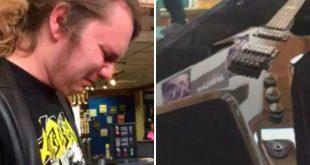 Viral: Estupefacto y con lágrimas recibió el regalo deseado por parte de su padre fallecido