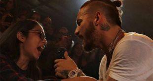 Video: Controversia porque Maluma rechazó fan que lo quería besar