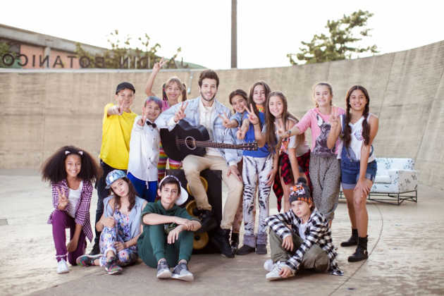 Talento musical en la Voz Kids