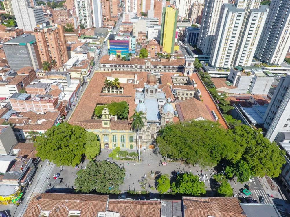 árboles de Medellín