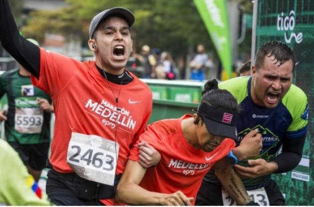 Maratón Medellín.
