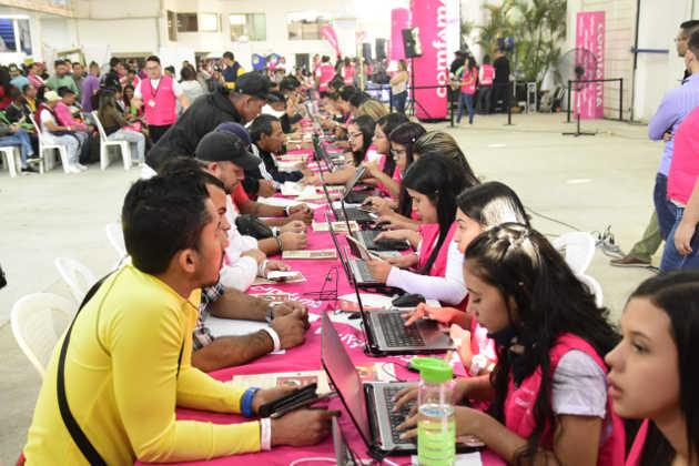 Rueda de empleo para venezolanos