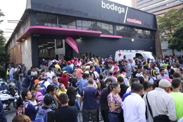 Rueda de empleo para venezolanos.