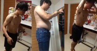 Logró bajar 13 kilos con solo 4 minutos de ejercicios al día